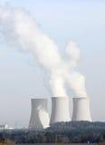 Central energética nuclear Foto de Stock Royalty Free