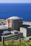 Central energética nuclear abandonada Imagem de Stock