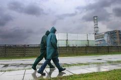 Central energética nuclear de Chornobyl Imagem de Stock