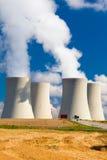 Central energética nuclear em Temelin, república checa Imagens de Stock Royalty Free