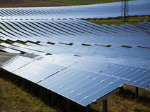 Central energética Photovoltaic Fotos de Stock Royalty Free