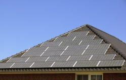 central energética solar 02 imagem de stock
