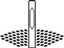 Central energética solar Imagens de Stock