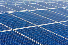 Central energética solar fotos de stock