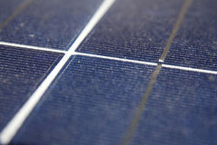 Central energética solar Fotos de Stock Royalty Free