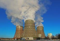 Central energética térmica Imagem de Stock Royalty Free