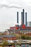 Central energética velha Imagem de Stock