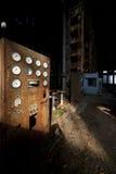 Central energética velha Fotografia de Stock Royalty Free