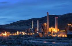Central energética Fotografia de Stock Royalty Free