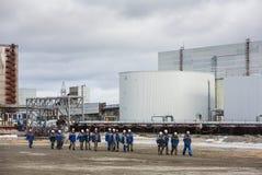 Central energética nuclear de Chernobyl Imagens de Stock Royalty Free