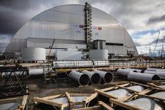 Central energética nuclear de Chernobyl Fotos de Stock Royalty Free