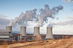 A central energética Tusimice Foto de Stock Royalty Free