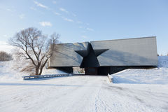 Central entrance to the Brest fortress Stock Photography