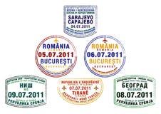 Central Europe Royaltyfri Foto