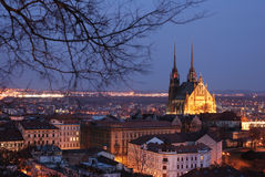 Central Europe, Czech rep,Brno Royalty Free Stock Image