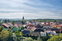 Central European town Stock Image