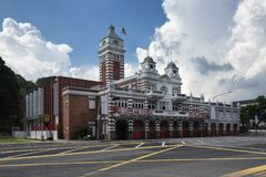 Central Fire Station, Hill Street, Singapore Royalty Free Stock Photos
