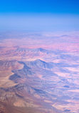 Central Fuerteventura from the air Stock Photography