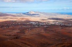 Central Fuerteventura, El Pinar Royalty Free Stock Images
