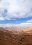 Central Fuerteventura, valley of Betancuria Royalty Free Stock Photography