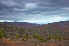 Central Fuerteventura, view from El Pinar Stock Photography
