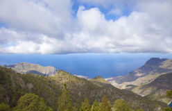 Central Gran Canaria in January Royalty Free Stock Photos