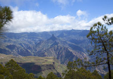 Central Gran Canaria Stock Image
