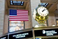 Central grande em New York City fotografia de stock royalty free