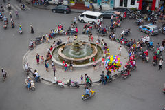 Central Hanoi Royalty Free Stock Photography
