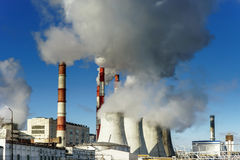 Central Heating and Power Plant Stock Photos