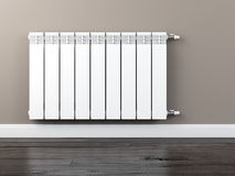 Central heating radiator Stock Photography