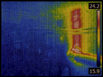 Central Heating System Infrared Stock Images