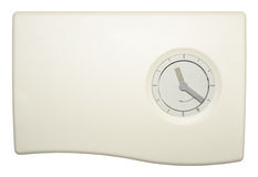 Central Heating Timer Stock Photo