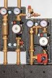 Central heating pump Royalty Free Stock Photos