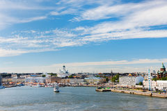 Central Helsinki Stock Image