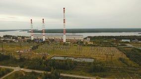 Central hidroeléctrica metrajes