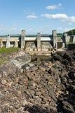 Central hidroeléctrica de Imatra Foto de archivo