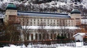 Central hidroeléctrica noruego Fotografía de archivo libre de regalías