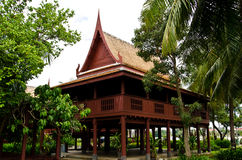 central home stil thai thailand Royaltyfri Fotografi