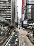Central, Hong Kong Imagem de Stock Royalty Free