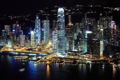 Central, Hong Kong. Central, Financial Base of Hong Kong Royalty Free Stock Photography