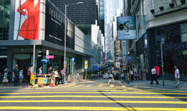 Central in Hong Kong Royalty Free Stock Image