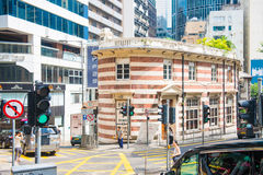 Central, Hong Kong - September 22, 2016 :The building is formerl Stock Images