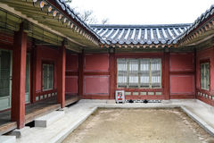The central inside the buildings at Changgyeong palace area6 Royalty Free Stock Image
