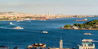 Central Istanbul Royalty Free Stock Image