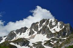 Central Italia de Apennines de la montaña de Terminillo Imagen de archivo