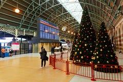 Central järnvägsstation, Sydney, Australien Arkivbilder