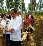Central java governor ganjar pranowo Royalty Free Stock Images