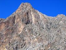 central klar hög bergskieskalkon Royaltyfri Fotografi