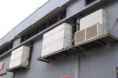 central konditionering utrustning för luft royaltyfri fotografi
